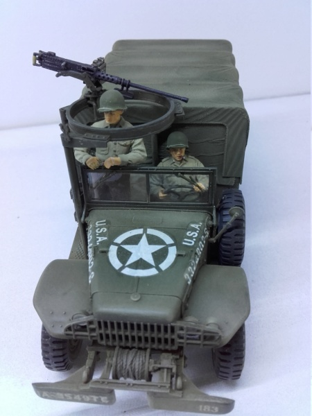 Dodge WC63 MG 1/35 AFV club - Page 2 20180821