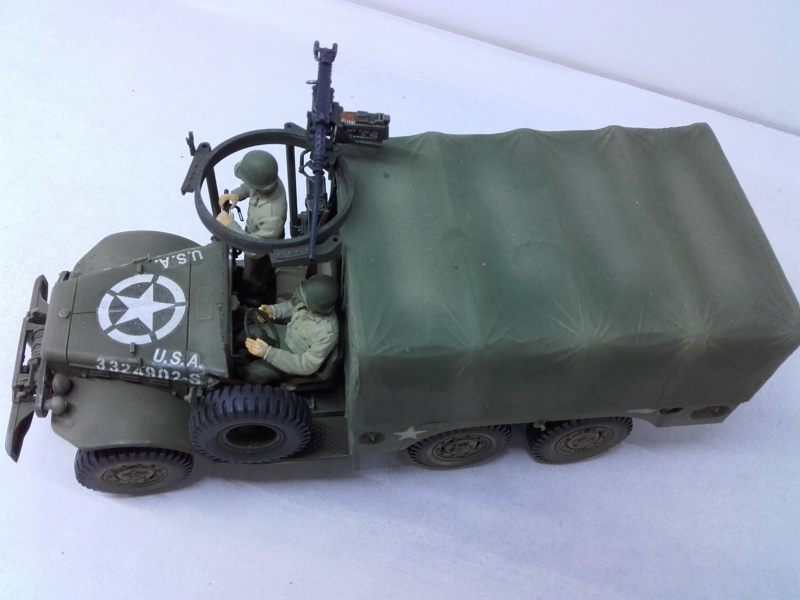 Dodge WC63 MG 1/35 AFV club - Page 2 20180822