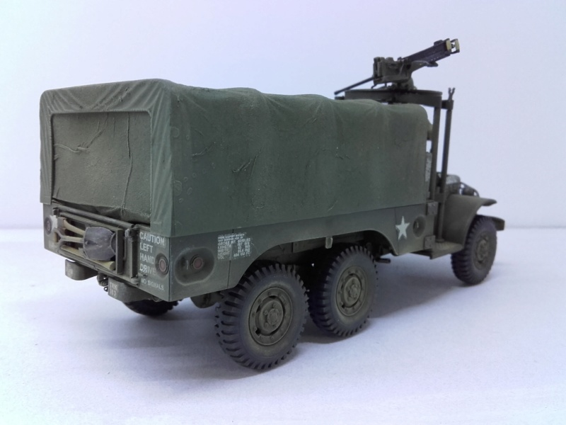Dodge WC63 MG 1/35 AFV club - Page 2 20180824