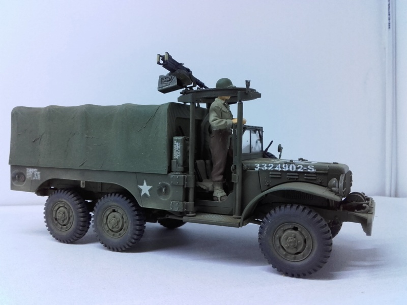 Dodge WC63 MG 1/35 AFV club - Page 2 20180825