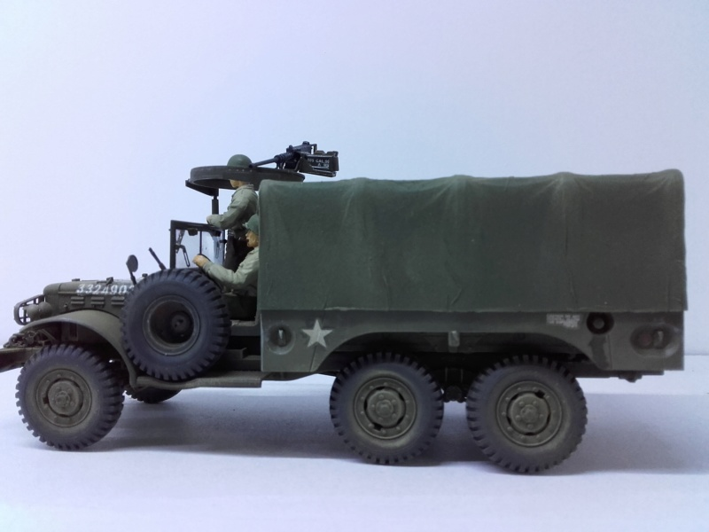 Dodge WC63 MG 1/35 AFV club - Page 2 20180826