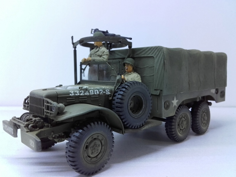 Dodge WC63 MG 1/35 AFV club - Page 2 20180827