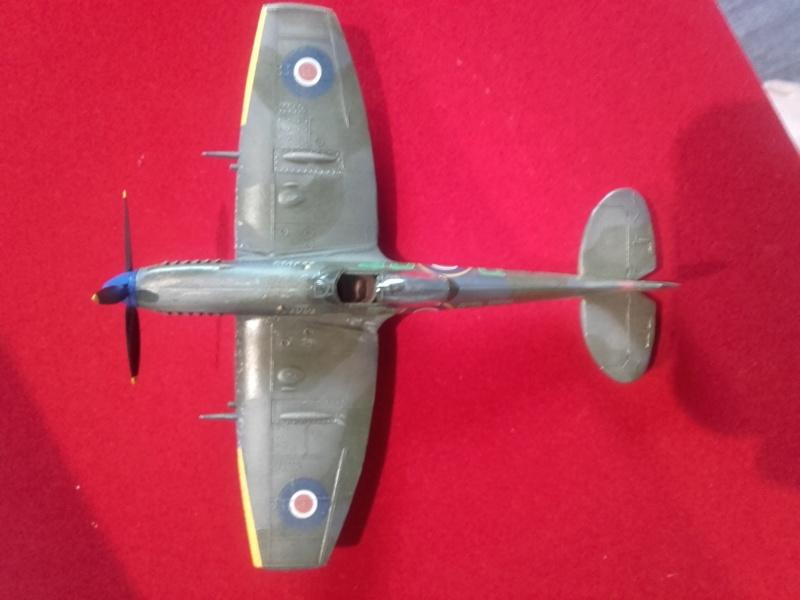 Spitfire MK XVI (Heller) 1/72 20181011