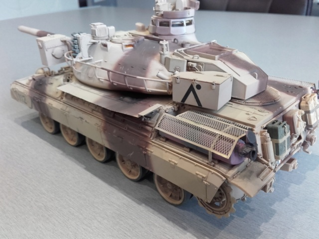 AMX 30 B2 (1/35 Meng ) - Desert Storm opération Daguet 1991 - Page 3 20190410