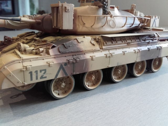 AMX 30 B2 (1/35 Meng ) - Desert Storm opération Daguet 1991 - Page 3 20190412
