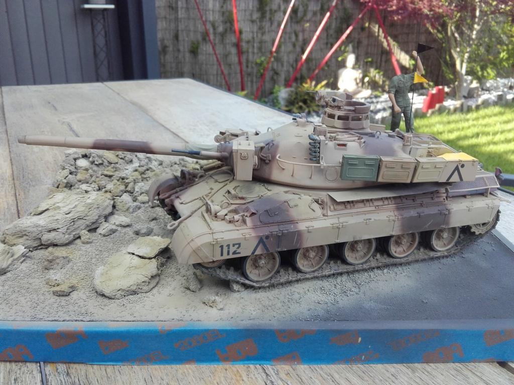 AMX 30 B2 (1/35 Meng ) - Desert Storm opération Daguet 1991 - Page 4 20190533