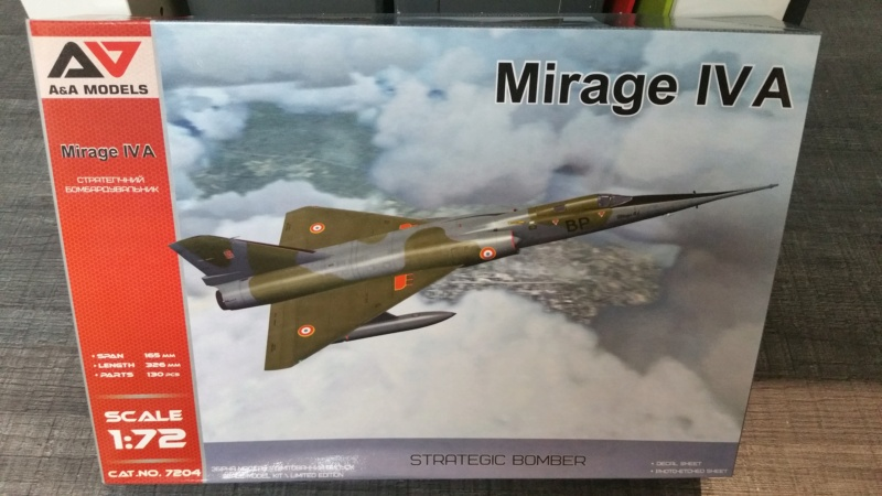 Mirage IV A 1/72 A&A Models 20200753