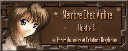 Carte de membre - Page 14 Odette29