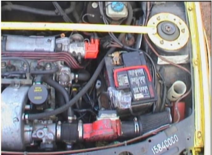 Restauration d'une ancienne 205 GTI grA pour le VHC 20200721
