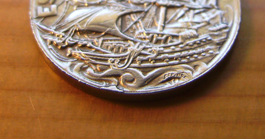 25 Céntimos 1925. Alfonso XIII. La Carabela Anvers11