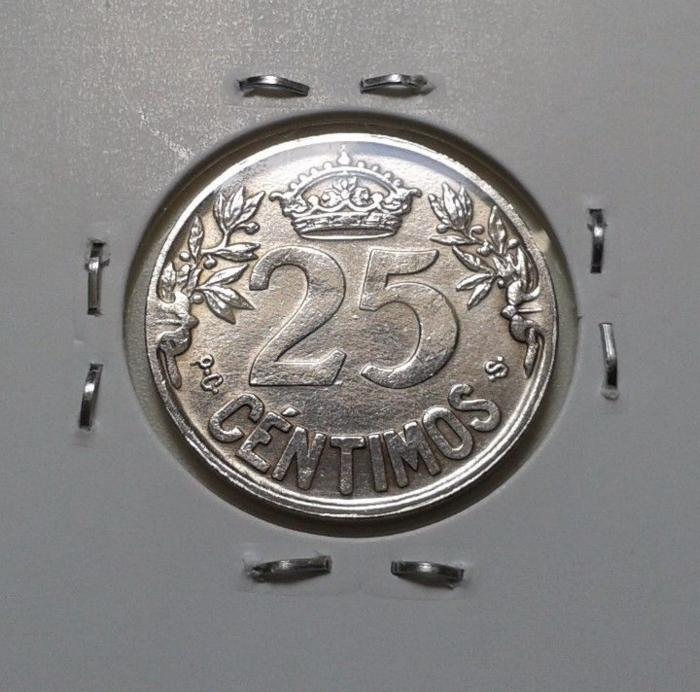 25 Céntimos - 1925 - AYUDA/OPINIÓN Captur14