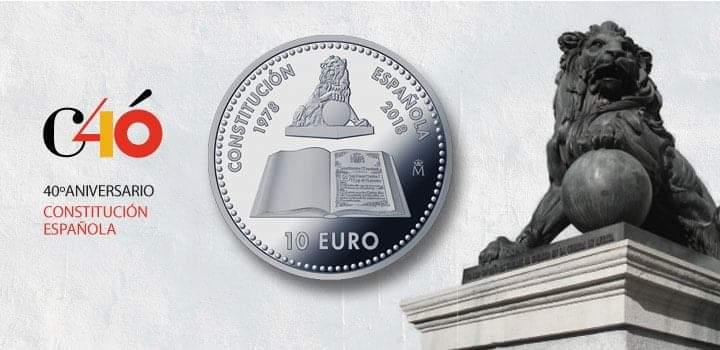 10€ - 40 años de la Constitución Española Img_6410