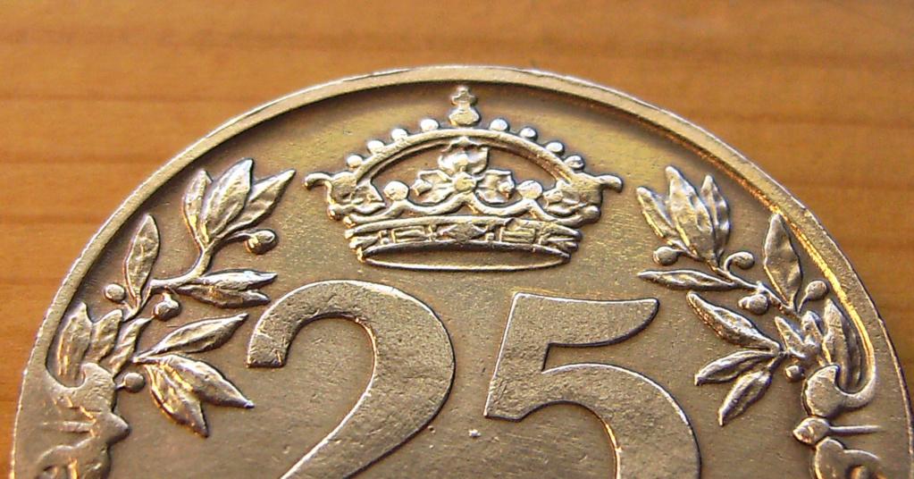 25 Céntimos 1925. Alfonso XIII. La Carabela Revers11