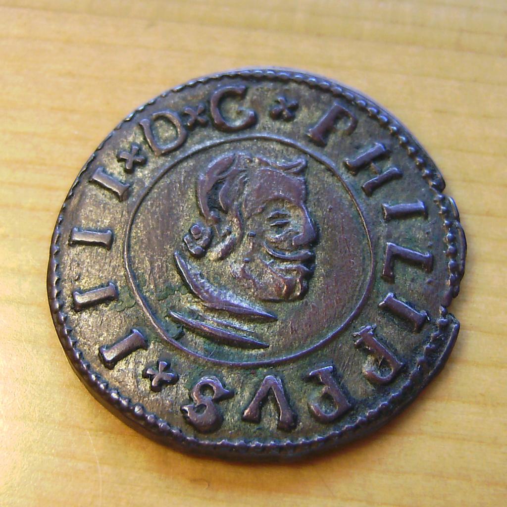 16 Maravedís - Valladolid - Felipe IV - 1663 Sany4413