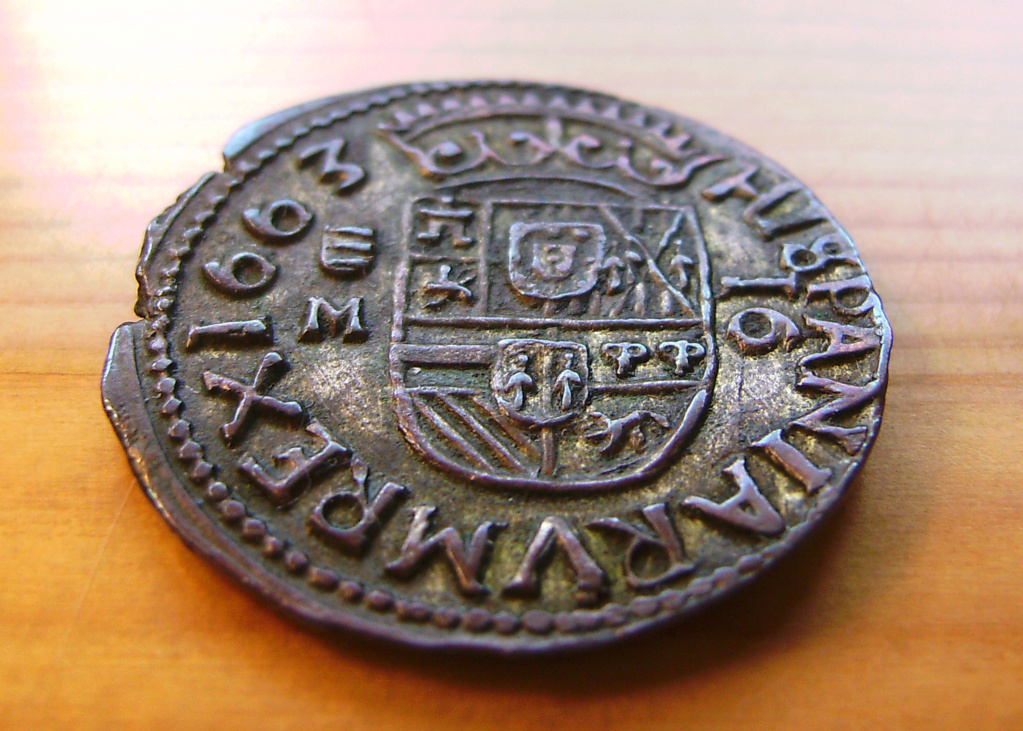 16 Maravedís - Valladolid - Felipe IV - 1663 Sany4415