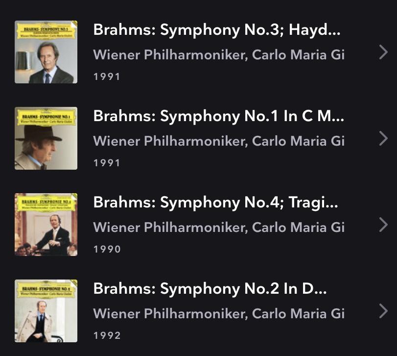 Consejos sobre una versión de las sinfonias de Brahms 74c4d310