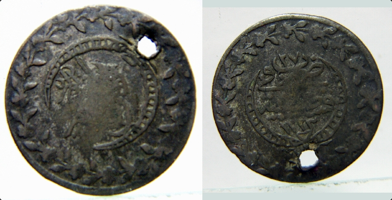 Turquía, 20 Para de Mahmud II del año 27 de reinado. Ceca Constantinopla Pict0010