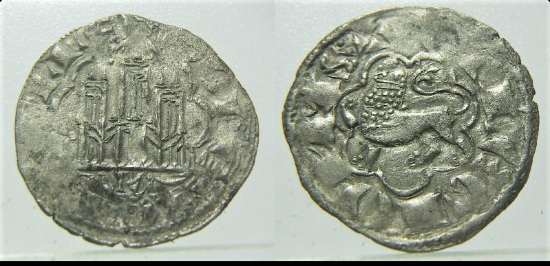 Dinero de la 2ª guerra de Granada de Alfonso X. León Pict8911