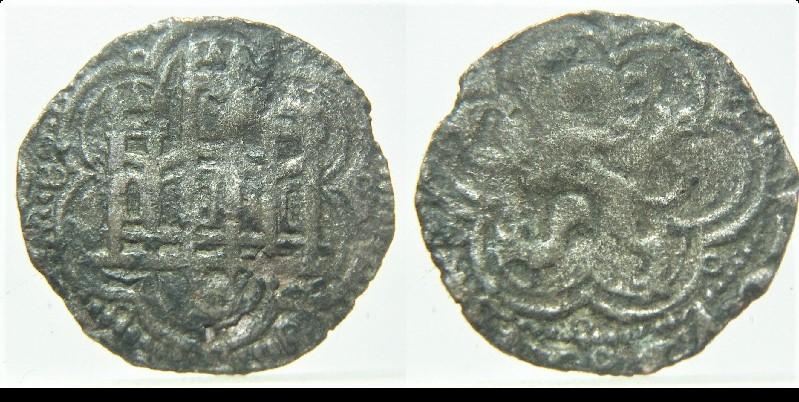 Blanca recortada de Enrique III. Sevilla... Pict9012