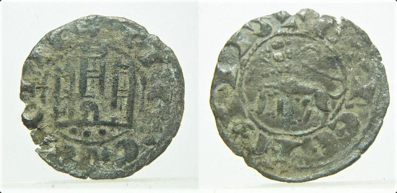 Dinero de Fernando IV. Emisión 1297 Pict9216