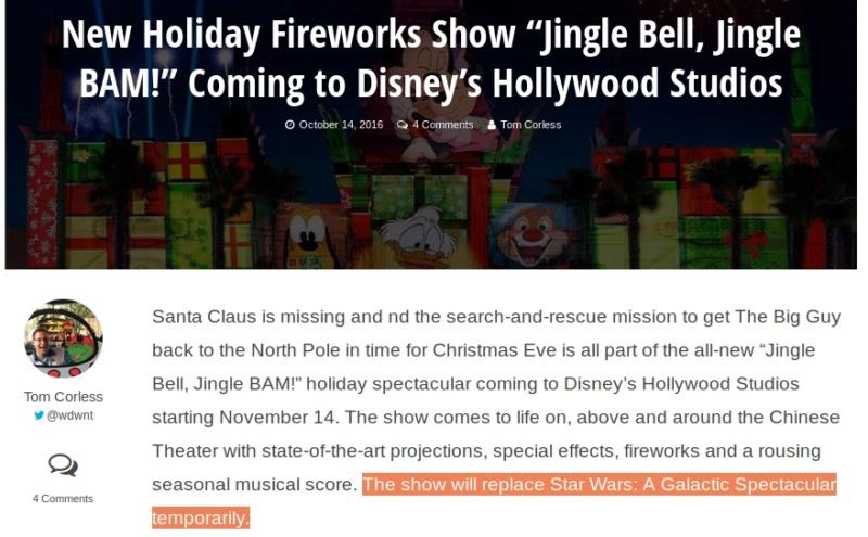 Organisation DisneyWorld en Novembre  - Page 4 Show10