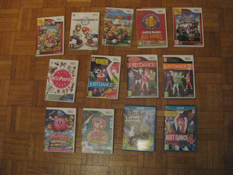 VDS Jeux/accessoires/console WII U Jeux10