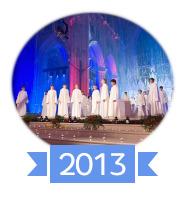 Les concerts et sorties (prestations live de Libera) [2000 → présent] 201310
