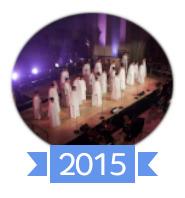 Les concerts et sorties (prestations live de Libera) [2000 → présent] 201510