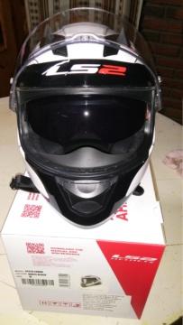 Vendo casco ls2 lunar nuevo en caja $4000 20181014