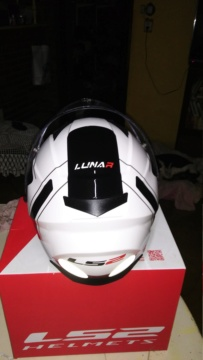 Vendo casco ls2 lunar nuevo en caja $4000 20181015
