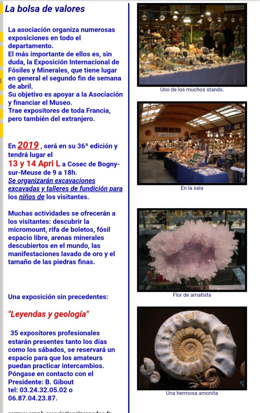 Ferias y eventos mes de Abril 2019. 20190314