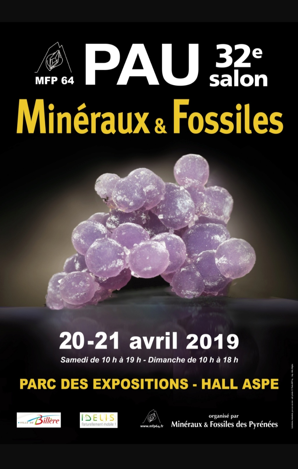 Ferias y eventos mes de Abril 2019. 20190315