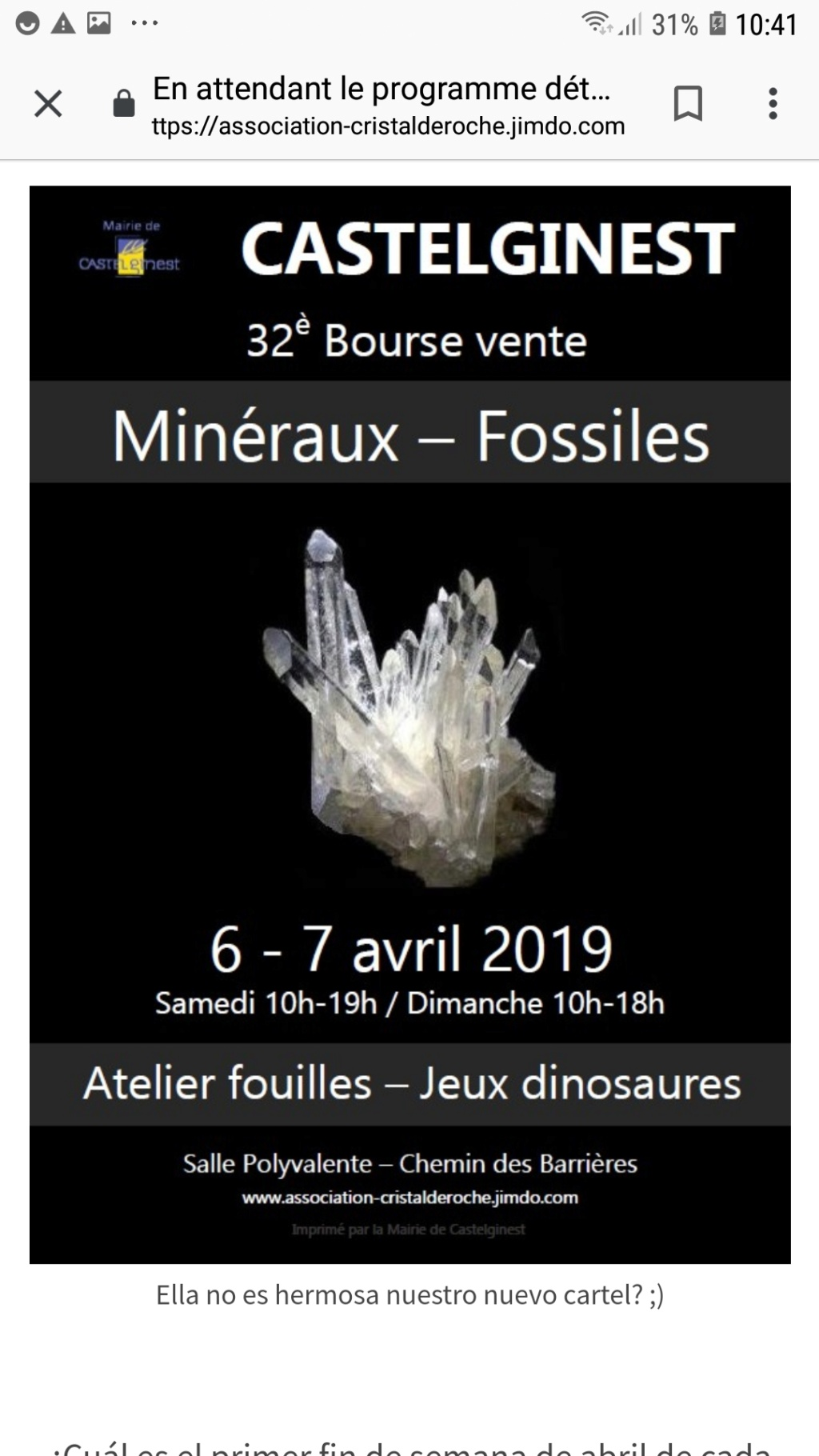 Ferias y eventos mes de Abril 2019. Screen17