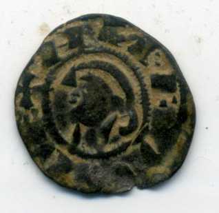 Dinero pepión de Alfonso VIII  Anv00315