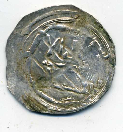 Dírham del 255 H, al-Ándalus, Muhammad I Anv00412