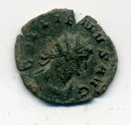 Antoniniano de Galieno. AEQVITAS AVG. Roma Anv00611