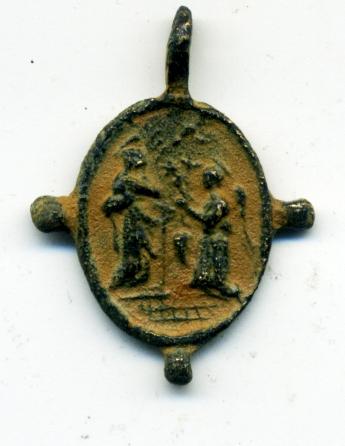 Anunciación / Inmaculada Concepción (pezuelada), S. XVII Anv01610