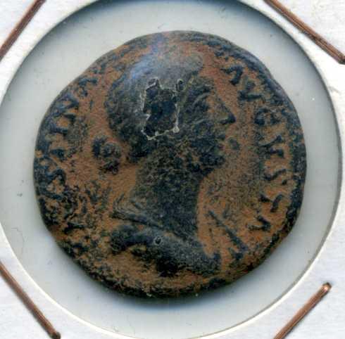 As de Faustina II. HILARITAS /S C Anv01910