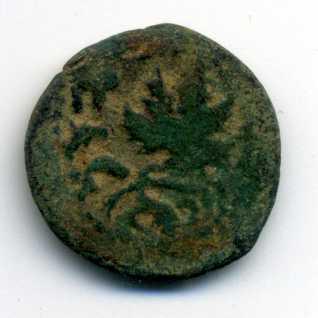 Prutah de la primera guerra judeo romana Anv03510