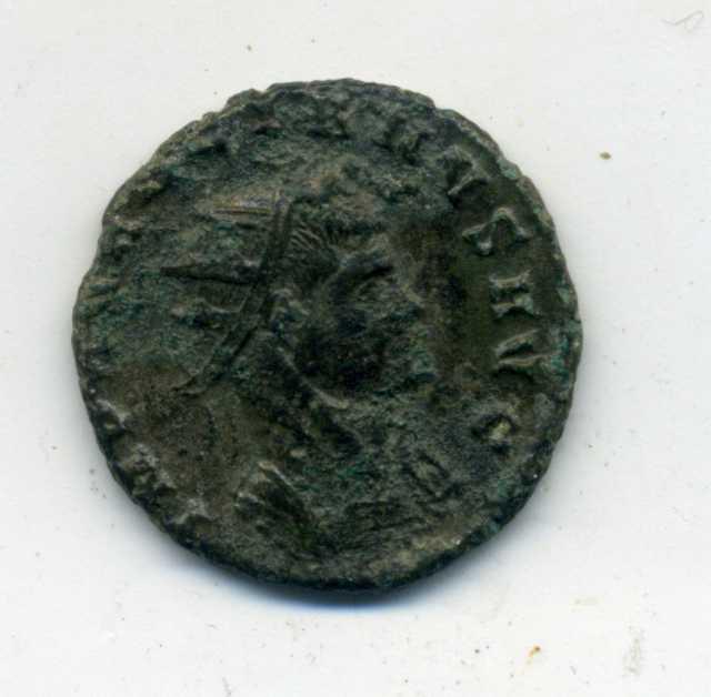 Antoniniano de Aureliano. GENIVS EXERCITI. Cycico Anv_ga10