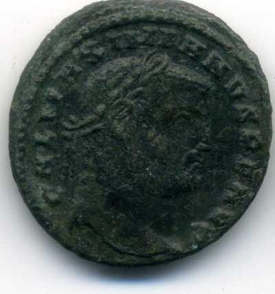 Nummus de Galerio. GENIO AVGVSTI. Cycico Anv_va20