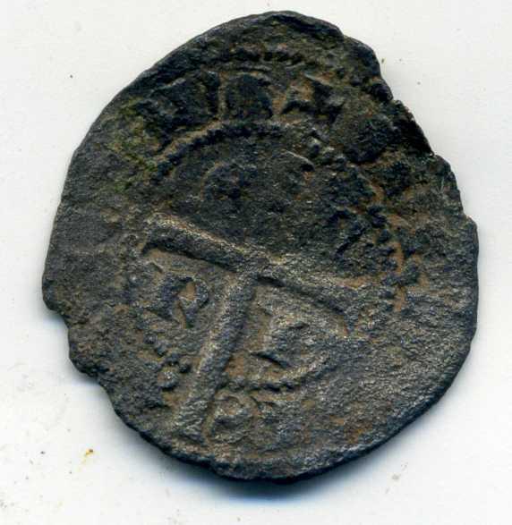 Cruzado de Enrique II. Rev-en10