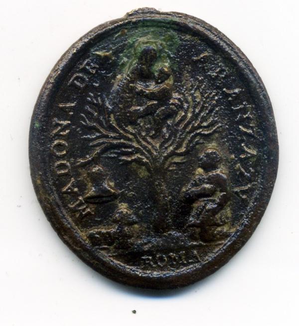 San Ignacio de Loyola / Ntra. Sra. de Aranzazu, s. XVIII Rev00216