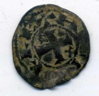 Dinero pepión de Alfonso VIII  Rev00414