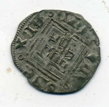 Dinero noven de Enrique II. Rev00614