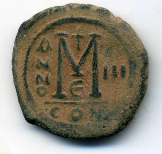 40 nummi de Justino II y Sofía Rev01210