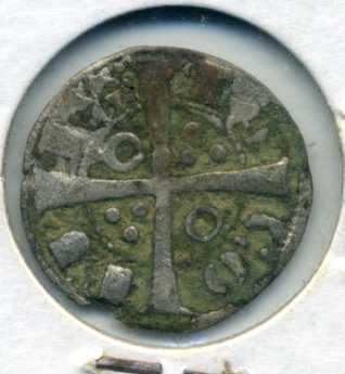 Dinero de Jaime I. Rev01613