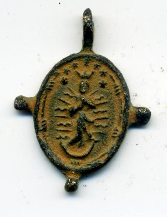 Anunciación / Inmaculada Concepción (pezuelada), S. XVII Rev01713
