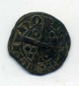 Dinero de Jaime II. Rev02013