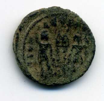 AE3 de Constantino II. GLORIA EXERCITVS Rev04810
